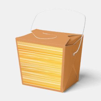 Ballotins Ballotin jaune-orange d'or de rayures