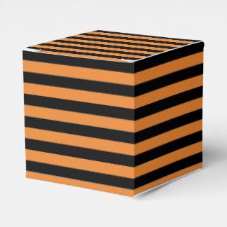 Ballotins Ballotin rayé orange et noir