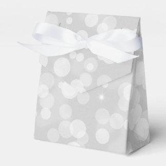 Ballotins Boîte-cadeau de Noël de Bells argentées