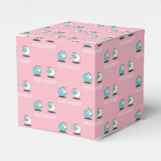 Ballotins Boîte de papier de faveur géniale de cadeau