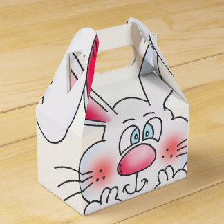 Ballotins Boîte heureuse de cadeau de lapin de Pâques