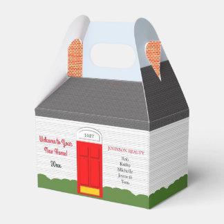 Ballotins Boîte personnalisée à la maison bienvenue à festin