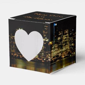 Ballotins Boîtes personnalisées romantiques de boîte-cadeau