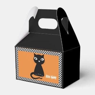 Ballotins Chat noir avec la queue courbée Halloween