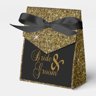 Ballotins Copie de confettis de parties scintillantes d'or
