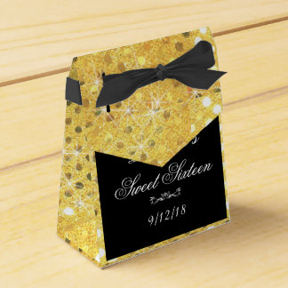 Ballotins Élégant, scintillement d'or, bonbon 16, partie