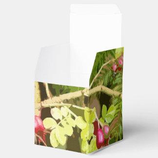 Ballotins Forêt en bois de conception de feuille de feuille