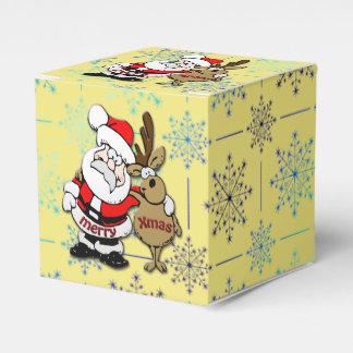 Ballotins Joyeux Noël Père Noël et Rudy - ballotin