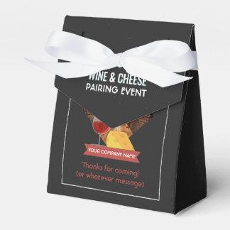 Ballotins Le vin et le fromage appareillant l'événement