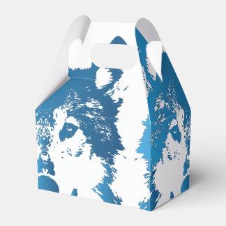 Ballotins Loup de bleu glacier d'illustration