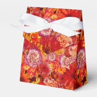 Ballotins Marguerites d'un rouge ardent riches de bouquet