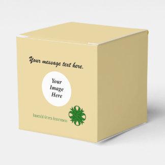 Ballotins Modèle de ruban de trèfle de vert vert