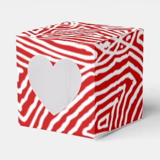 Ballotins Motif rouge de Scribbleprints