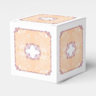 Ballotins Orange de boîte-cadeau