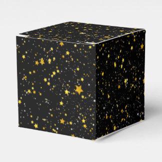 Ballotins Parties scintillantes Stars3 - Noir d'or