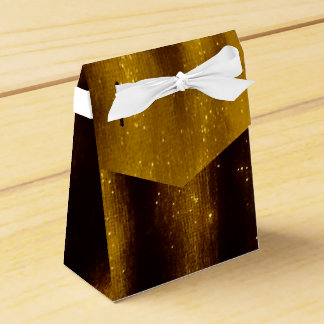 Ballotins Peinture et parties scintillantes d'or de Faux sur