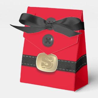 Ballotins Peu de boîte-cadeau rouge de Noël avec amour de