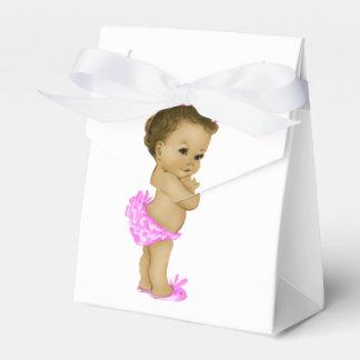 Ballotins roses de princesse baby shower boite de faveur