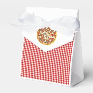 Ballotins Sacs de faveur de sucrerie de partie de pizza pour