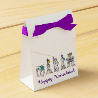 Ballotins Vacances heureuses de Hanoukka NYC New York City