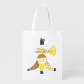 Banana split aucun sac réutilisable d'arrière -