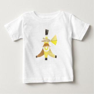 Banana split aucun T-shirt de bébé d'arrière -