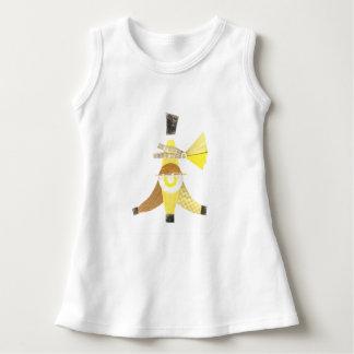 Banana split aucune robe de bébé d'arrière - plan
