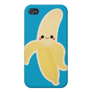 Banane mignonne de Kawaii Étui iPhone 4/4S