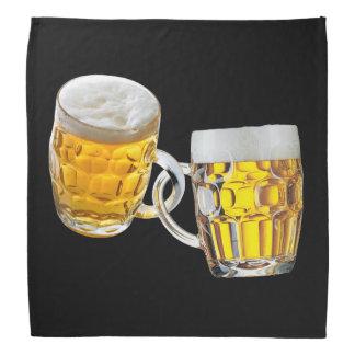 Bandana Amis d'Oktoberfest deux verres de bière drôles