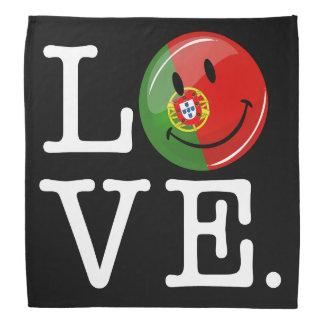 Bandana Amour de drapeau de sourire du Portugal