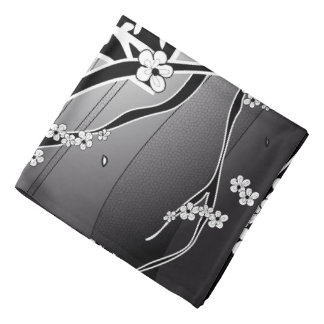 Bandana Arbre noir de fleurs de cerisier