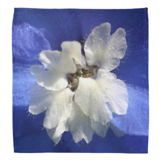 Bandana Beau concepteur bleu intelligent de fleur