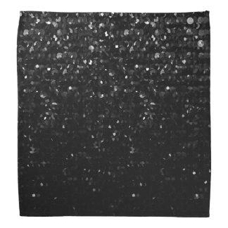Bandana Bling en cristal noir Strass