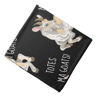 Bandana Chèvres de mA d'emballages !