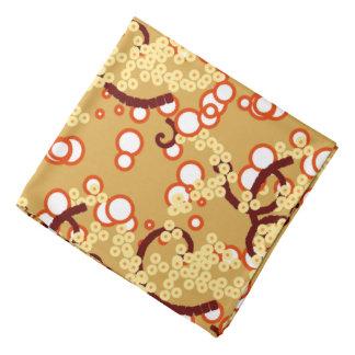 Bandana Copie abstraite moderne de confettis, or de