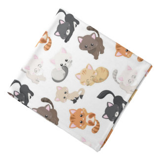 Bandana Copie adorable de chats de Kitty