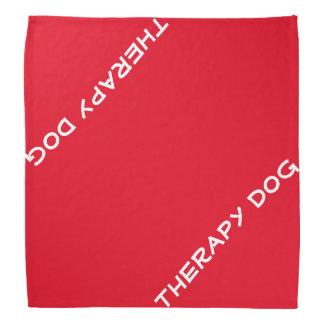 Bandana de chien de thérapie