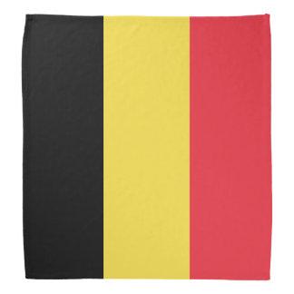 Bandana de drapeau de la Belgique