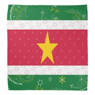 Bandana de drapeau du Surinam
