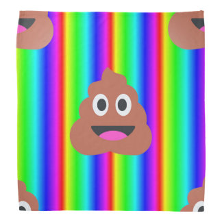 bandana d'emoji de dunette d'arc-en-ciel