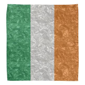 Bandana Drapeau de l'Irlande - froissé