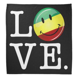 Bandana Drapeau heureux de Rasta d'amour de Rastafarian