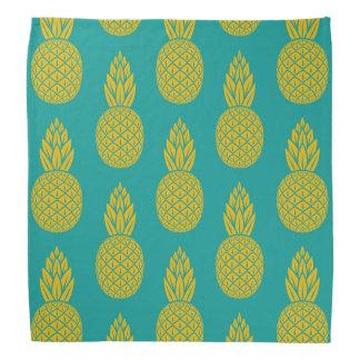 Bandana hawaïen tropical de motif d'ananas