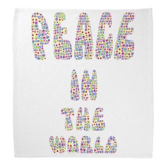 Bandana Peace dans les World the