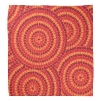 Bandana Peinture indigène de point