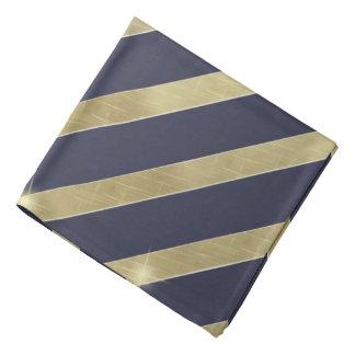 Bandana Rayure de scintillement ID285 d'or