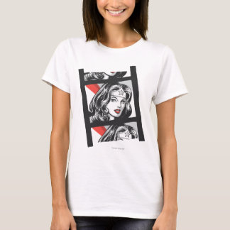 Bande de film de femme de merveille t-shirt