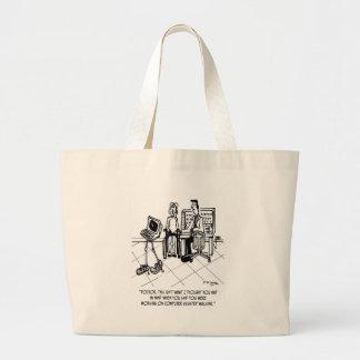 Bande dessinée 1795 d'incapacité sac en toile jumbo