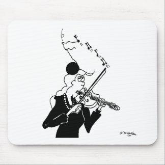 Bande dessinée 2178 de violon tapis de souris