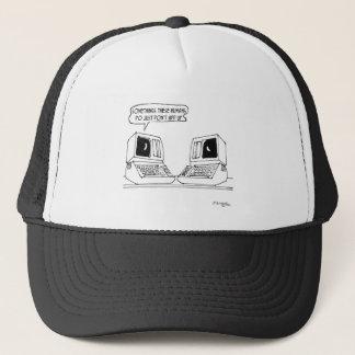 Bande dessinée 3118 d'ordinateur casquette